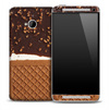 Nutty Ice Cream Skin for the HTC One Phone