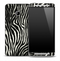 Real Zebra Skin for the HTC One Phone