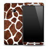 Real Giraffe Skin for the HTC One Phone