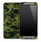Vivid Green Digital Camo Skin for the HTC One Phone