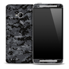 Dark Digital Camo Skin for the HTC One Phone