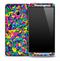 Neon Sprinkles Skin for the HTC One Phone