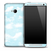 Subtle Clouds Skin for the HTC One Phone