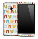 Flip Flops Skin for the HTC One Phone