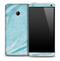 Layered Blue Waves Skin for the HTC One Phone
