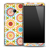 Artistic Colorful Circles Skin for the HTC One Phone