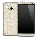 Vintage Colorful Dots Skin for the HTC One Phone