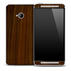 Walnut Wood Skin for the HTC One Phone