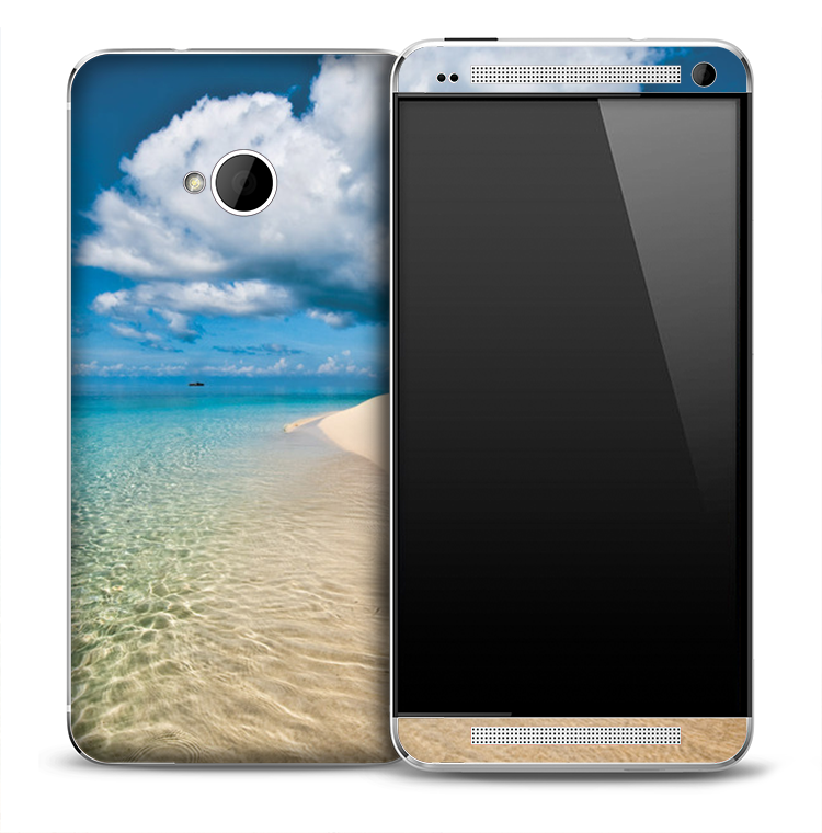 Tropical Oasis Skin for the HTC One Phone