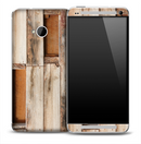 Broken Pallet Skin for the HTC One Phone