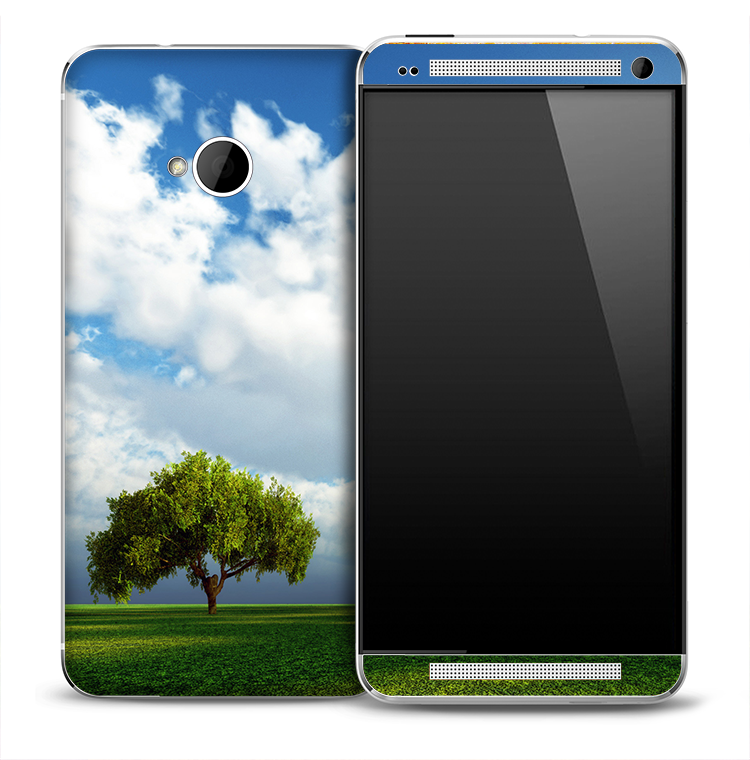 Paradise Hill Skin for the HTC One Phone