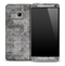 Gray Tiled Skin for the HTC One Phone