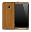 Bamboo Wood Skin for the HTC One Phone