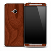Mahogany Wood Skin for the HTC One Phone