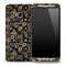 Tiny Floral Sprockets Skin for the HTC One Phone