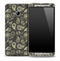 Dark Paisley Skin for the HTC One Phone