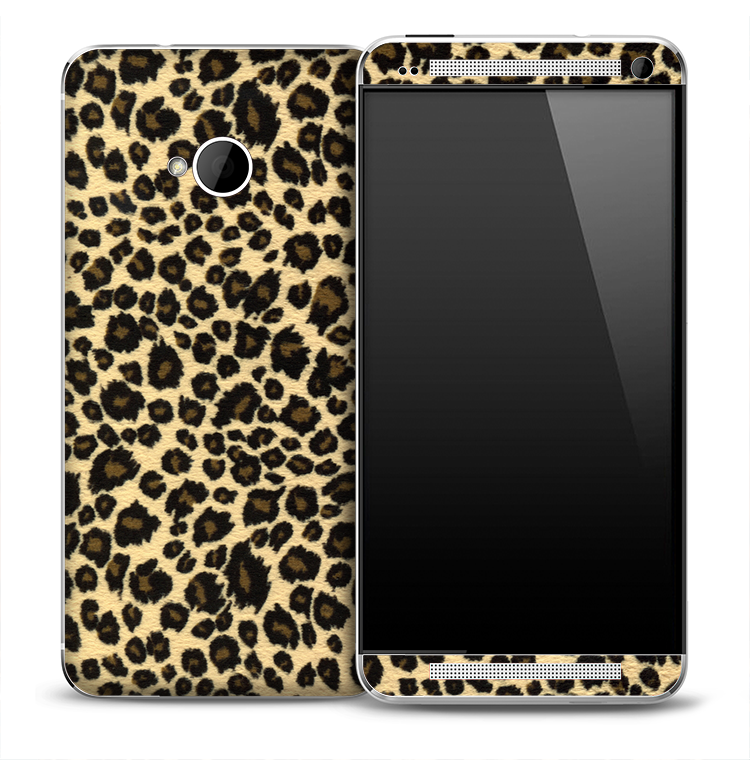 Real Jaguar Skin for the HTC One Phone