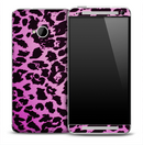 Pink Cheetah Skin for the HTC One Phone