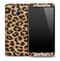 Real Cheetah Skin for the HTC One Phone