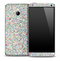 Colorful Glitter Skin for the HTC One Phone
