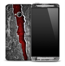 Red Tear Skin for the HTC One Phone