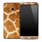 Real Light Giraffe Skin for the HTC One Phone