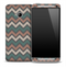 Vintage V6 Chevron Pattern Skin for the HTC One Phone