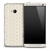 Stars Subtle Pattern Skin for the HTC One Phone