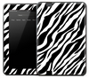 Zebra Print Skin for the Amazon Kindle