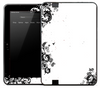 White & Black Edge Skin for the Amazon Kindle