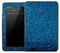 Blue Glitter Skin for the Amazon Kindle