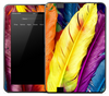 Neon Colorful Feathers Skin for the Amazon Kindle
