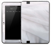 Wrinkled White Sheet Skin for the Amazon Kindle