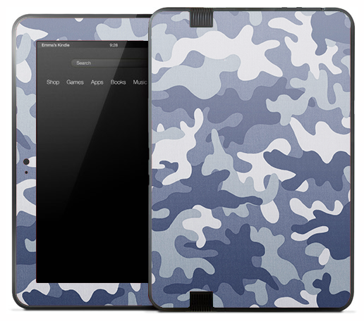 Vintage Arctic Camo Skin for the Amazon Kindle