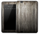 Vintage Dark Wood Skin for the Amazon Kindle