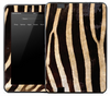 Vintage Zebra Skin for the Amazon Kindle