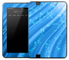 Starry Blue Bands Skin for the Amazon Kindle