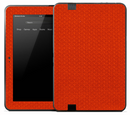 Orange Jersey Skin for the Amazon Kindle