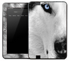 Arctic Wolf Skin for the Amazon Kindle