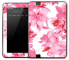 Light Pink Flowers Skin for the Amazon Kindle