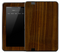 Stained Dark Wood Skin for the Amazon Kindle