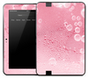 Pink Bubble Condensation Skin for the Amazon Kindle