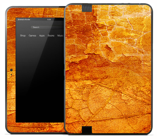 Antique Orange Skin for the Amazon Kindle