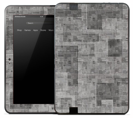 Layered Metal Skin for the Amazon Kindle