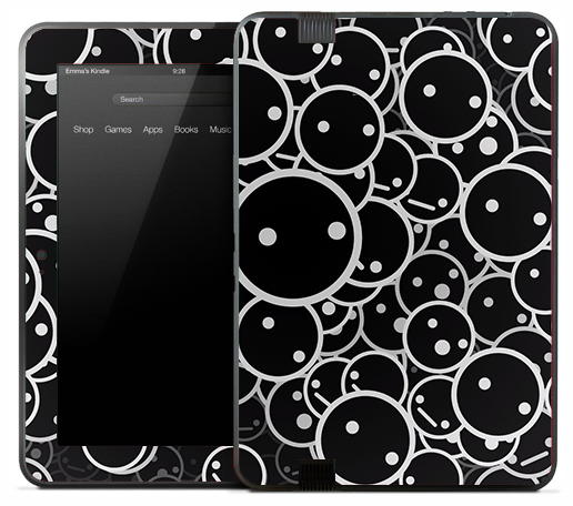 Dark Faces Skin for the Amazon Kindle