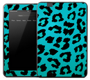 Blue Cheetah Skin for the Amazon Kindle
