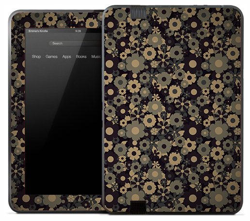 Flower Camo Skin for the Amazon Kindle