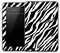 Artistic Zebra Skin for the Amazon Kindle