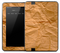 Crumpled Paper Bag Skin for the Amazon Kindle