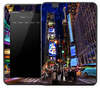 Vivid Times Square Skin for the Amazon Kindle